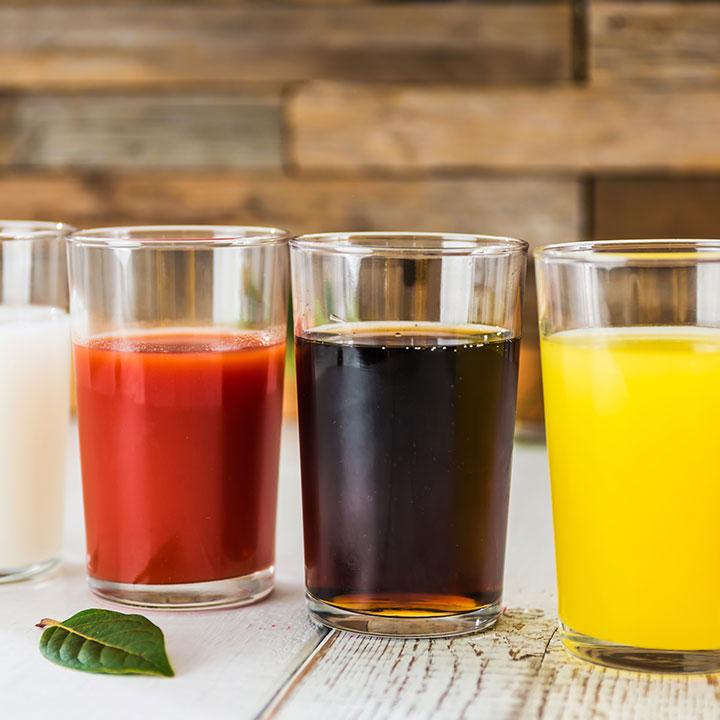 飲み物の種類や効果